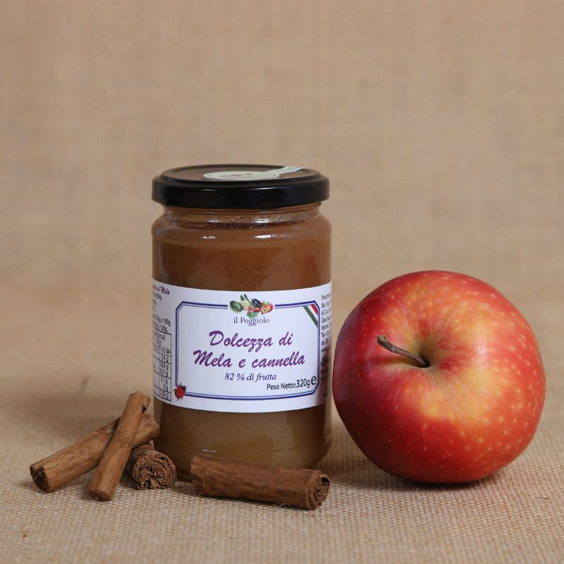 Confettura mele e cannella - Sapori Terra Umbra